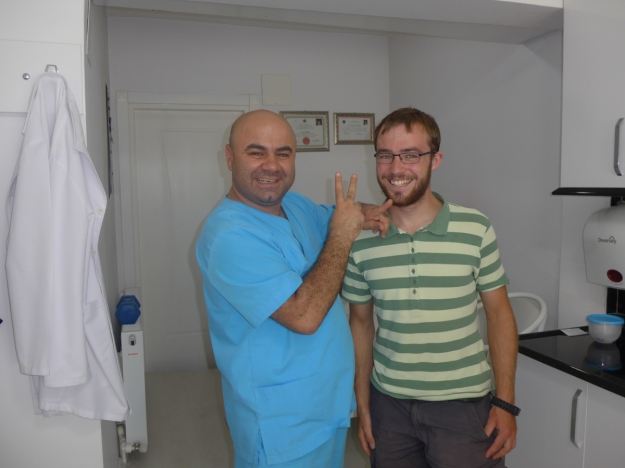 2016-08-12, Filbo Türkei, Amasya,Zahnarztpraxis,P1050957