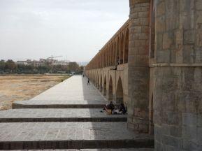 2016-11-01, Filbo Iran,Isfahan,Brücke,DSCN2814