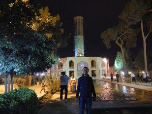 2016-11-07, Filbo Iran,Yazd,Kühlturm an Haus, Museum,DSCN2965