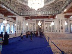 2016-12-11, Filbo Oman,Muscat, Moschee, 2. gr. Teppich d. Welt, DSCN3369