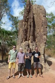 2017-07-06, Australien, Litchfield, Termite Mounds, Do.P1080154