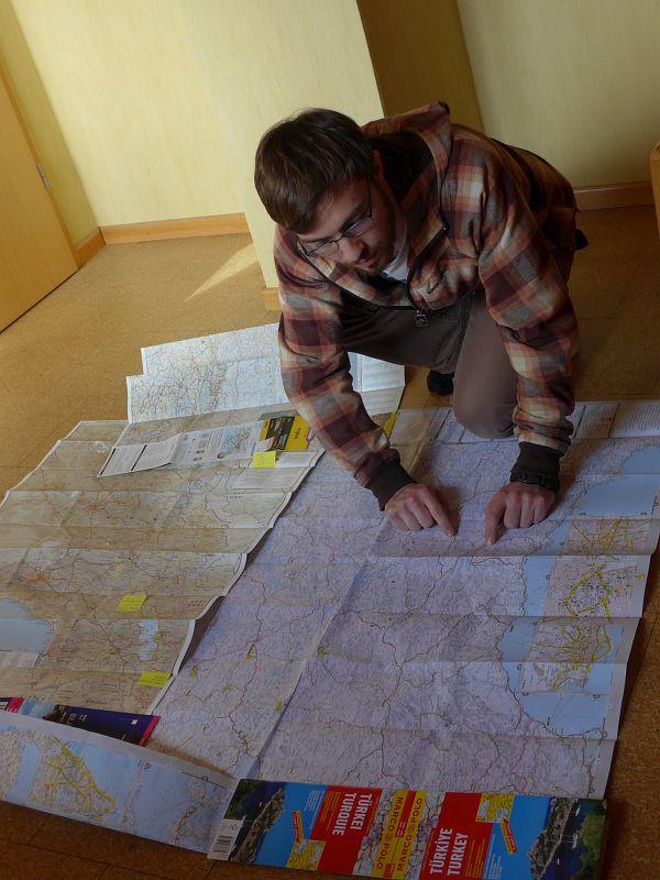 Planung Radreise Filbo 2016